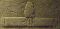 Oud-Egyptisch hieroglief van een offertafel.
