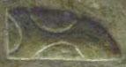 Oud-Egyptisch hieroglief van land.