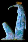 Oud-Egyptisch hieroglief van Thoth.