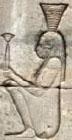 Oud-Egyptisch hieroglief van Ankhet.
