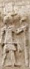 Oud-Egyptisch hiëroglief van een heer met stok.