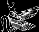 Oud-Egyptisch hieroglief van een cobra slang.