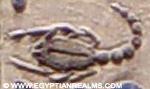 Oud-Egyptisch hieroglief van een schorpioen.