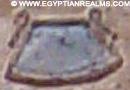 Oud-Egyptisch hieroglief van een vat.