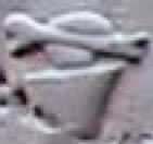 Oud-Egyptisch hieroglief van een vaas met bot.
