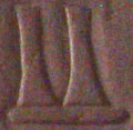 Oud-Egyptisch hieroglief van vasen.