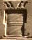 Oud-Egyptisch hieroglief van een slee met kist.