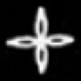 Oud-Egyptisch hieroglief van een bloem.