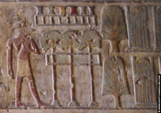 Relief uit de tombe van Paheri.