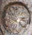 Oud-Egyptisch hieroglief van een rozette.