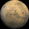 Planeet Mars.