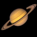 Planeet Saturnus.