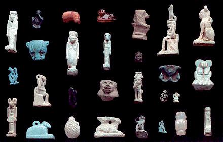 Egyptische Amuletten.