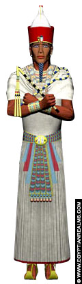 Impressie van Pharaoh met Dubbele Kroon.