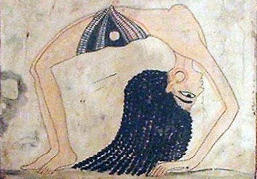 Egyptische danseres.