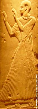 Tenue van een Egyptische priester.