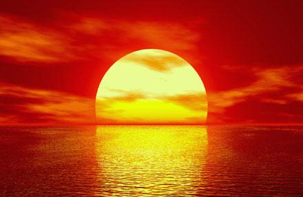 De Zon, het Oog van Ra.