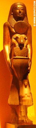 Een priester van Amun.
