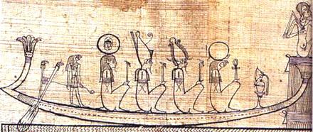 Voorstelling op Papyrus.