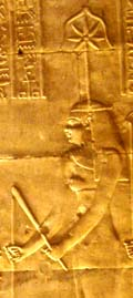 Relief of Seshat.