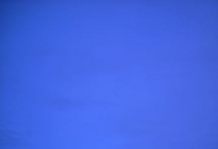 Helder blauwe lucht, het Huis van Shu.