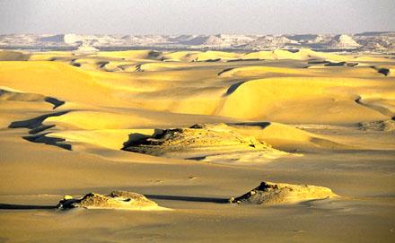 Dorre woestijn.