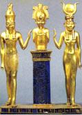 Gouden Heru, Asar en Aset.