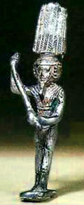 Egyptisch beeldje van Anher.