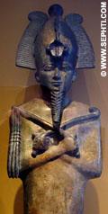 Cultusbeeld van Asar.