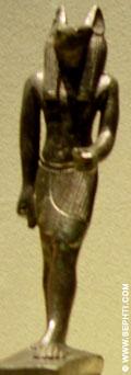 Cultus beeldje van Suth.