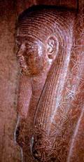 Het lichaam van Nut is bedekt met vijfpuntige sterren.