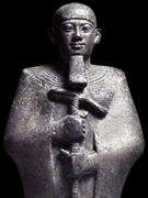 Beeldje van Ptah.