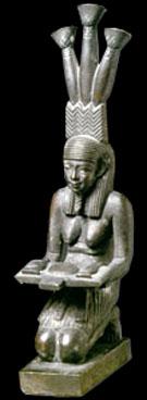 Beeldje van de oud-Egyptische Hapi.