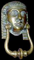 Egyptische deurklepel.