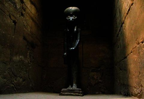 Cultus beeld van Sakhmet.