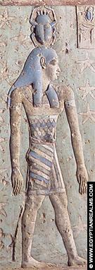 Relief afkomstig van Dendera Tempel.