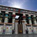 Reconstructie van de Edfu Tempel.