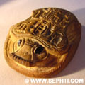 Amulet Hart scarabee.
