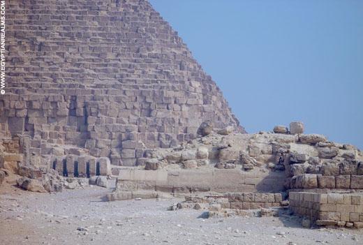 Granieten kist in de piramide van Chephren.
