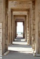 Portalen in de Tempel van Kom-Ombo.