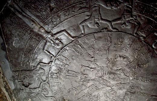 Zodiak van de Dendera Tempel.