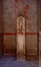 Heiligdom in de Tempel van Hatjepsut.
