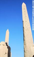 Obelisken in de Karnak Tempel.