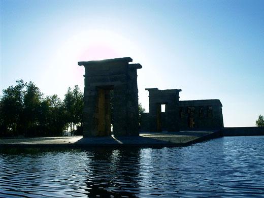 Tempel van Debod.