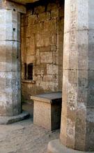 Altaar in de Karnak Tempel.