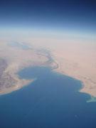 Egypte vanuit de lucht.