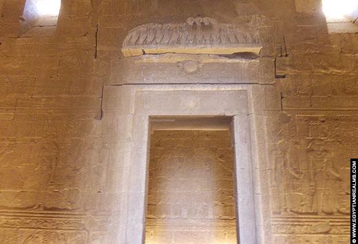 Portaal van de Kalabsha Tempel.