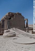 Restanten van de Ramesseum tempel.