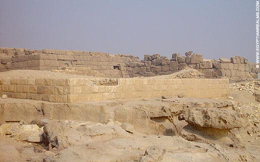 Mastaba's op het terrein van Gizeh.