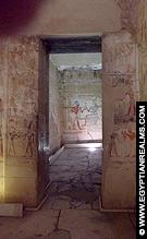 Vertrek in de Abydos Tempel.